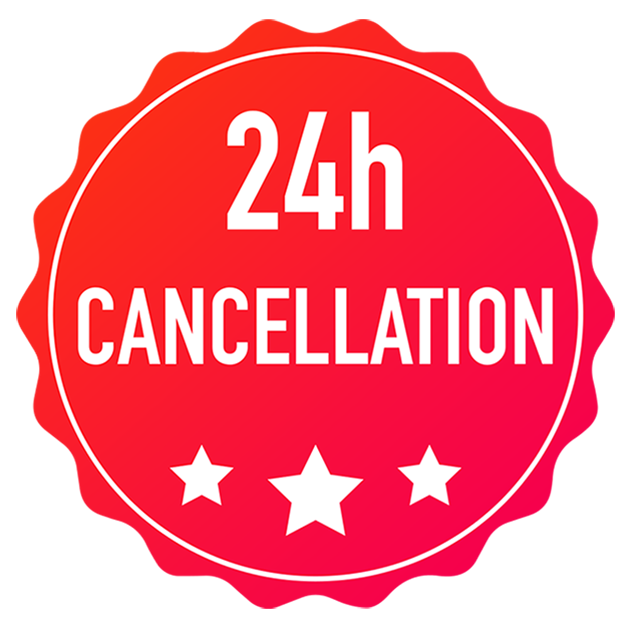 24 hour cancellation